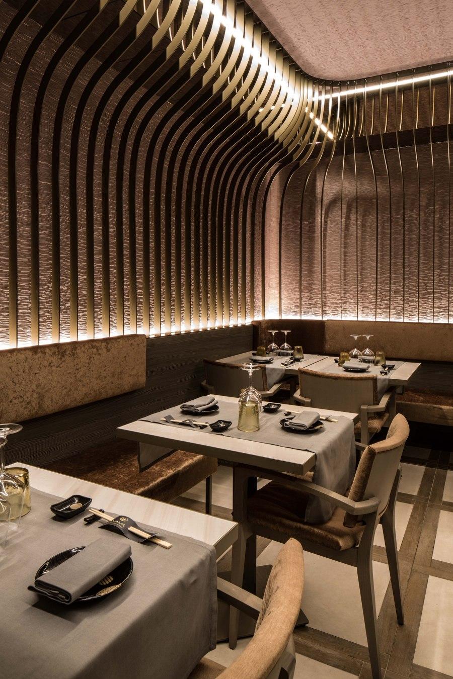 Yama by LAI STUDIO, Maurizio Lai   Restaurant interiors