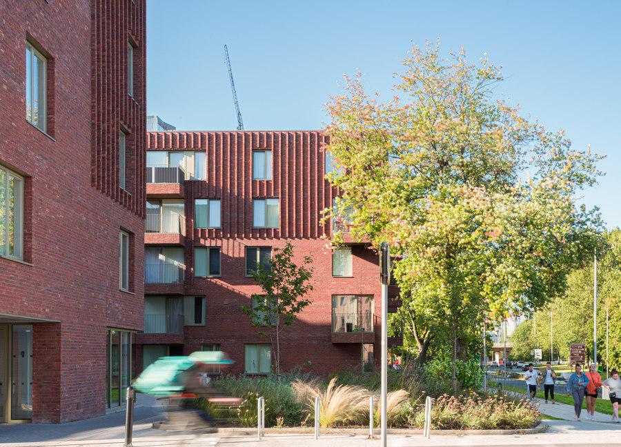 Hulme Living Leaf Street Housing by Mecanoo | Apartment blocks