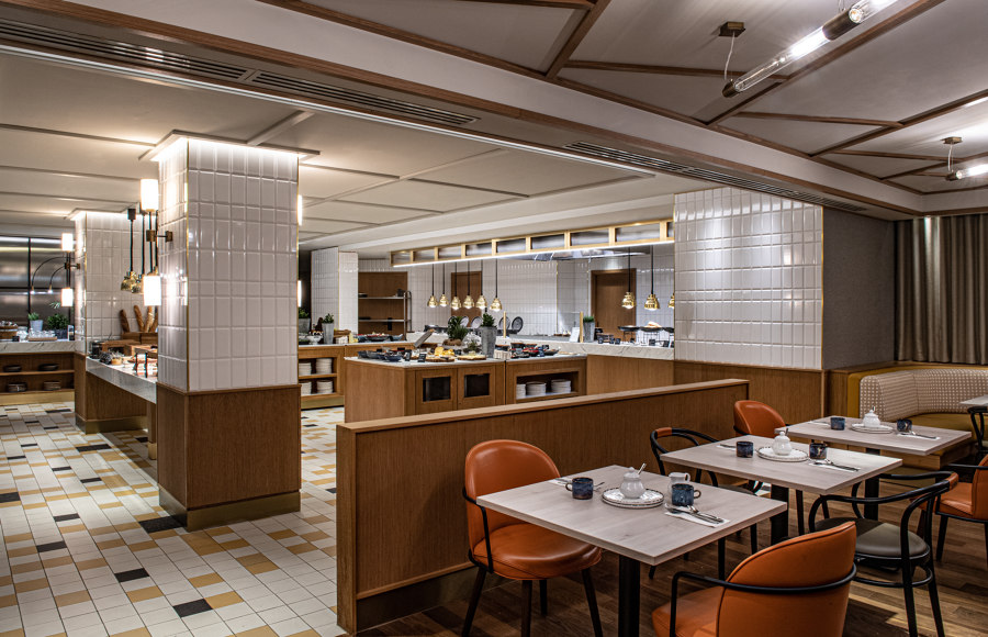 Sheraton Grand Warsaw by Epicurean | Restaurant interiors
