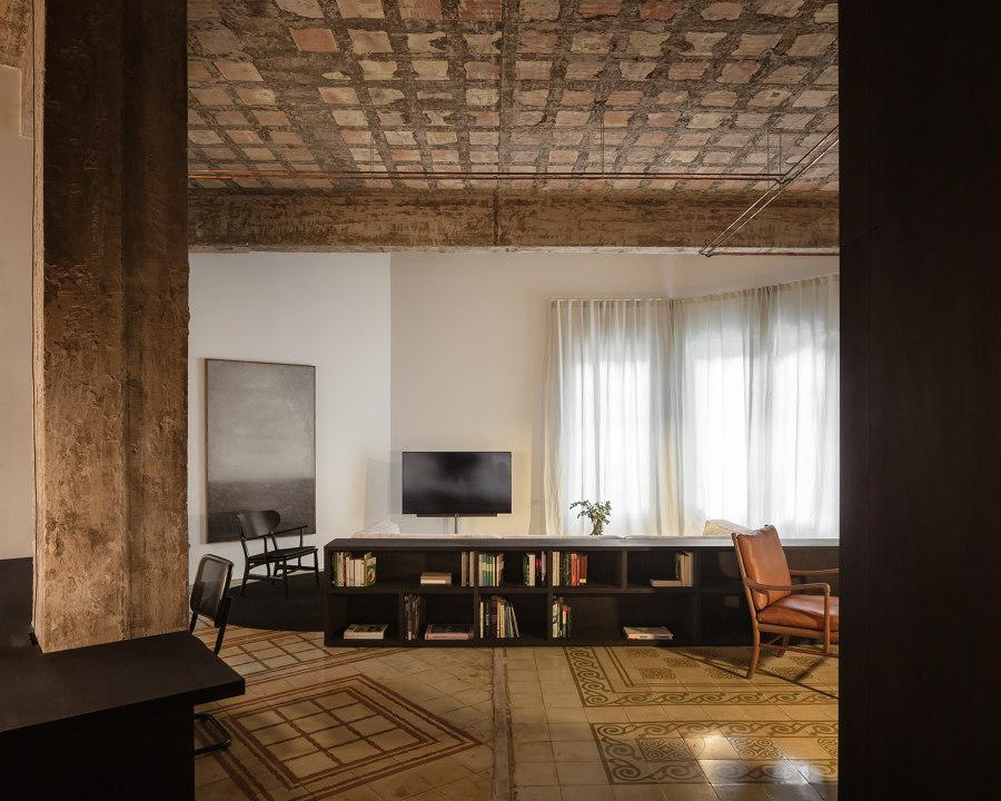 R Apartment by Francesc Rifé | Living space