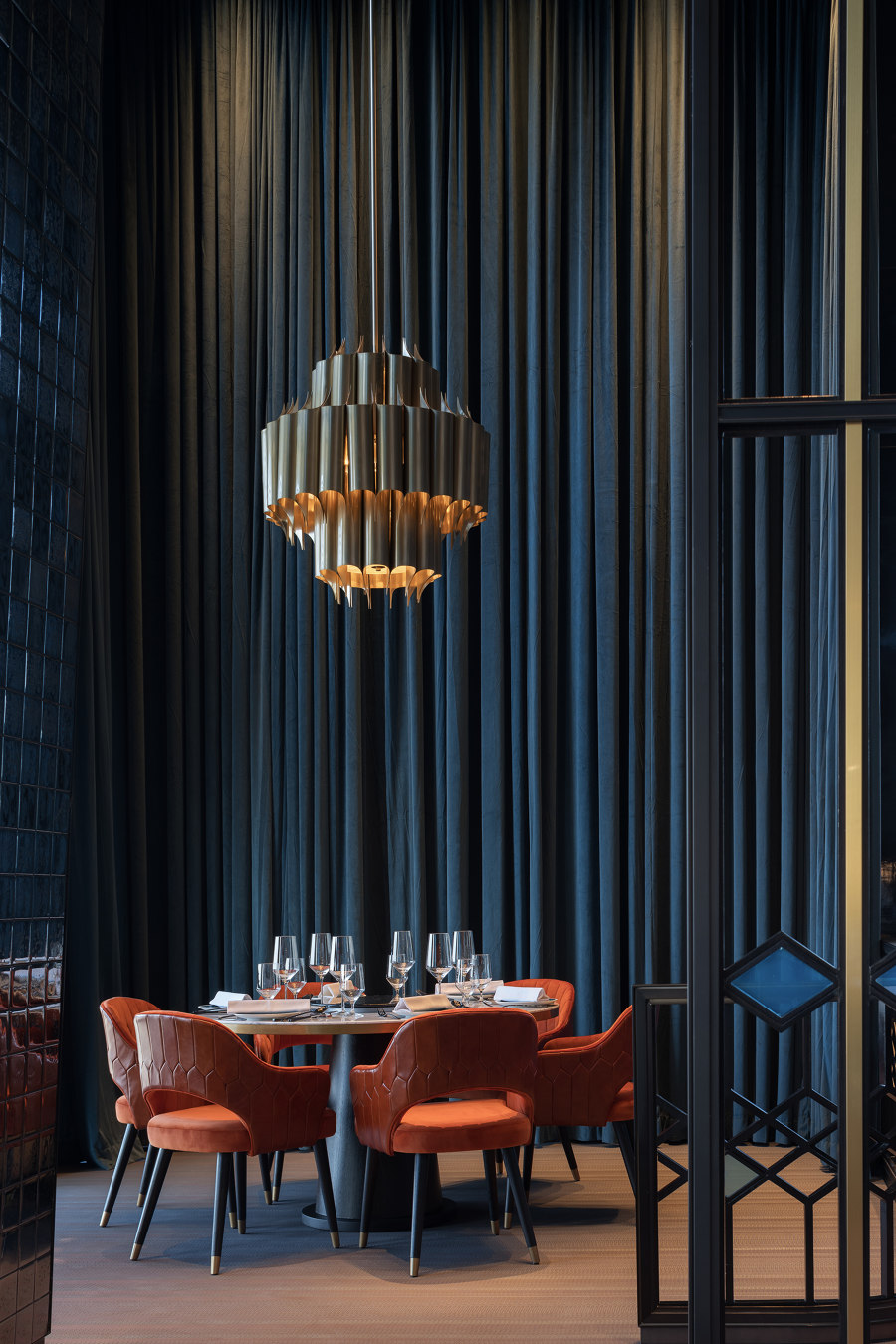 InterContinental Chongqing Raffles City & L42 Residential Clubhouse by CL3 | Hotel interiors