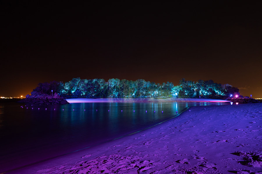 Magical Shores at Siloso by LPA: Lighting Planners Associates | Installations