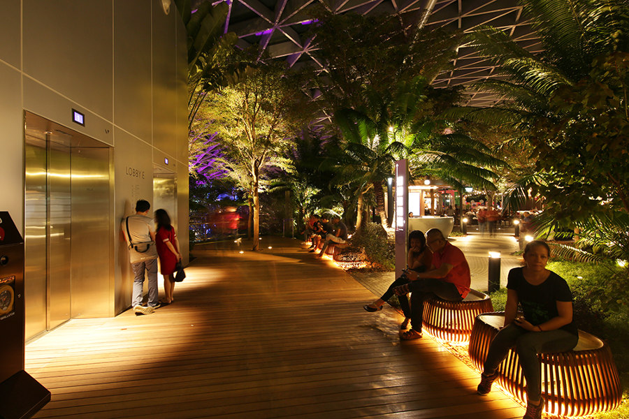 Jewel Changi Airport von LPA: Lighting Planners Associates | Parks