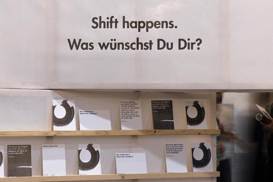 shift happens by 22quadrat | Trade fair stands