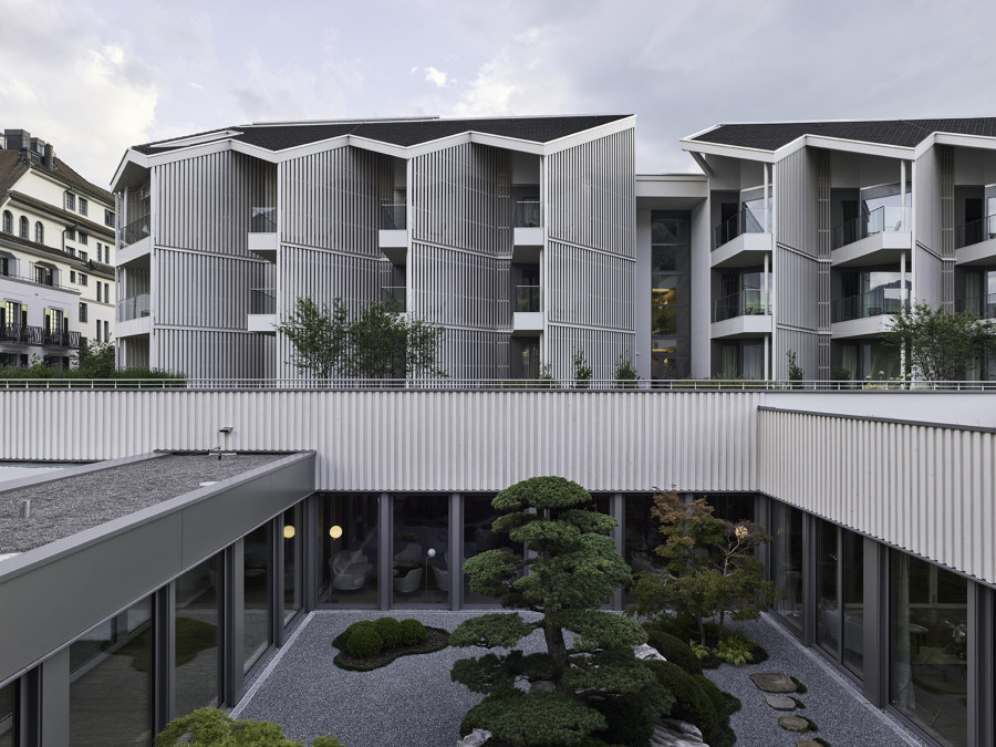 Chenot Palace Weggis Health Wellness Hotel by Davide Macullo Architects | Hotels