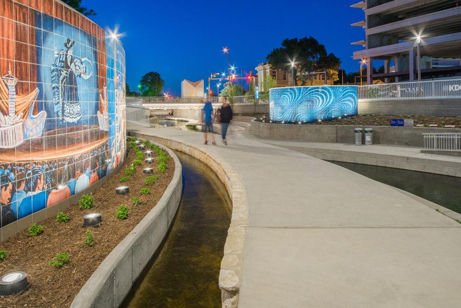 San Pedro Creek Culture Park by FMS | Fisher Marantz Stone | Parks