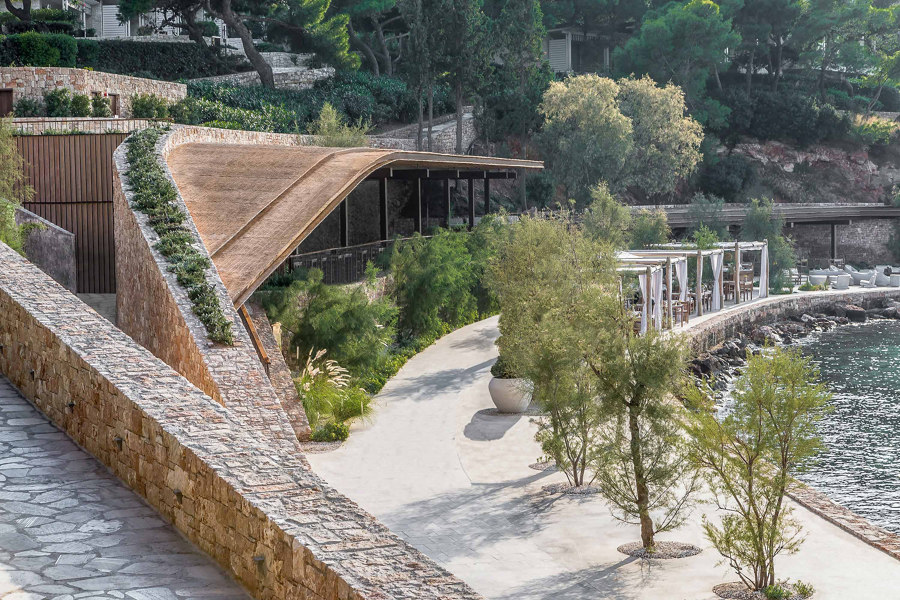 TAVERNA at Four Seasons Astir Palace Hotel by Caneplex Design | Manufacturer references