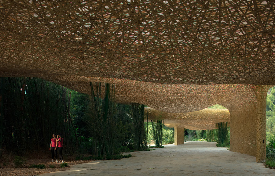 "Bamboo Bamboo, Canopy and Pavilions, Impression Sanjie Liu by ""llLab."" 