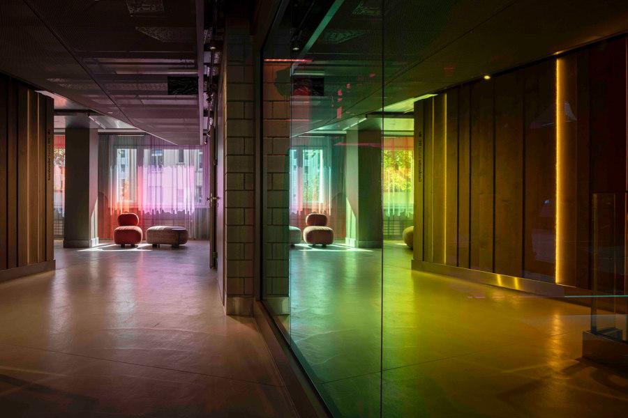 Fitnesspark Stadelhofen by Atelier ushitamborriello Innenarchitektur_Szenenbild   Office facilities