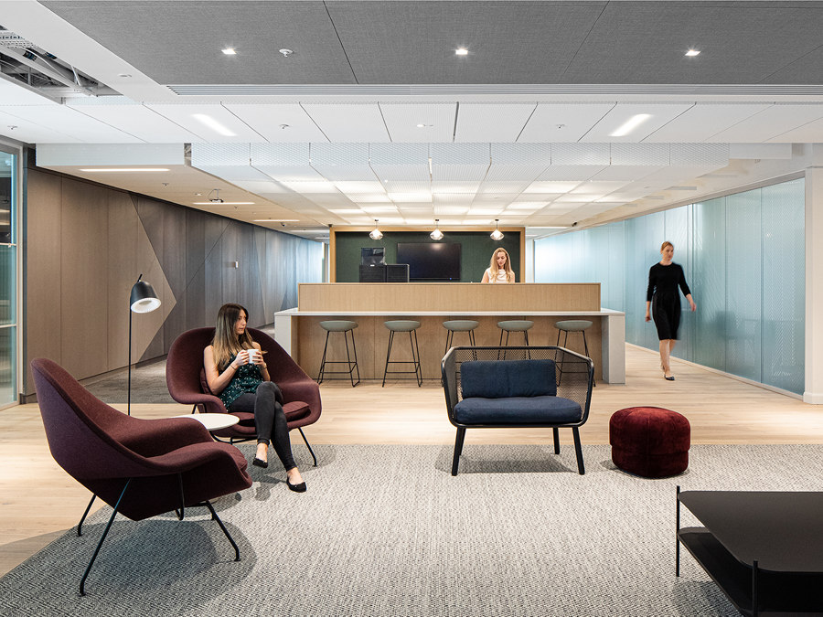 Ashurst London HQ by The Furniture Practice |