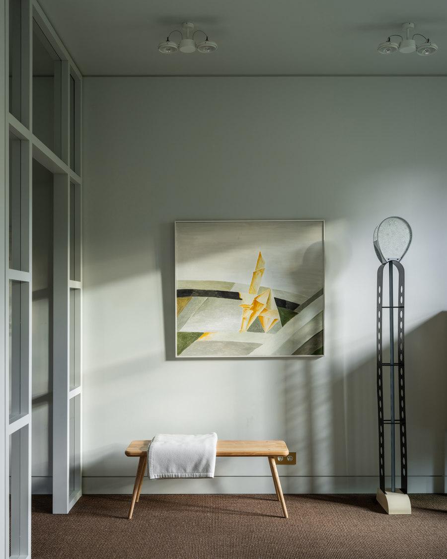 Basmanny apt by Blockstudio | Living space