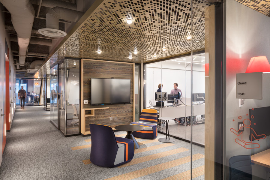 Microsoft Research Lab by Lam Partners | Office facilities