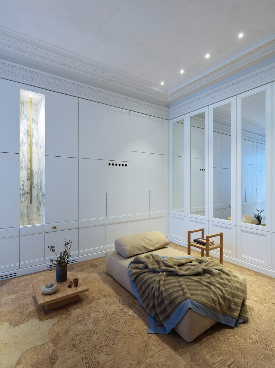 Apartment H. by BEHF Architects | Living space