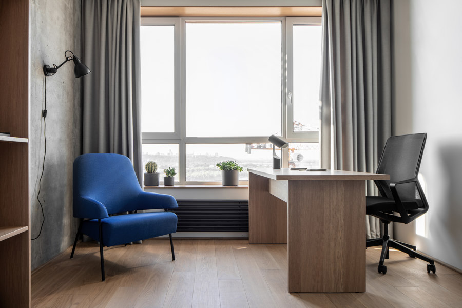 Zarichnyy Apartment by FILD Design Thinking Company | Living space