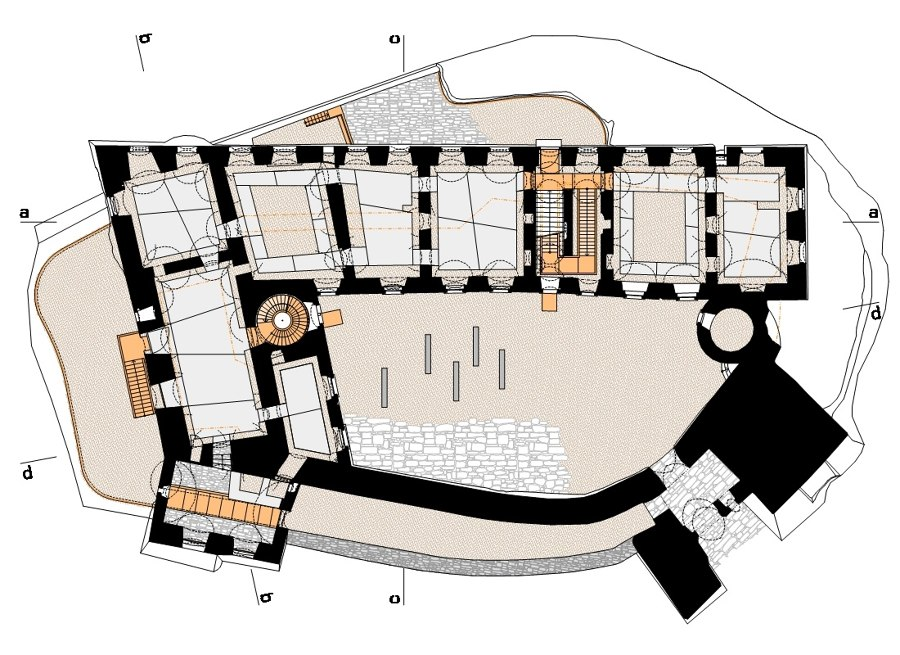 Helfštýn Castle Palace Reconstruction by atelier-r | Museums