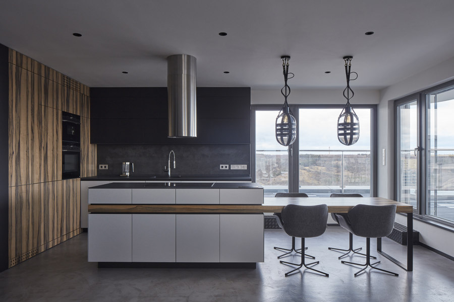 Techno Lover Apartment by Studio Perspektiv | Living space