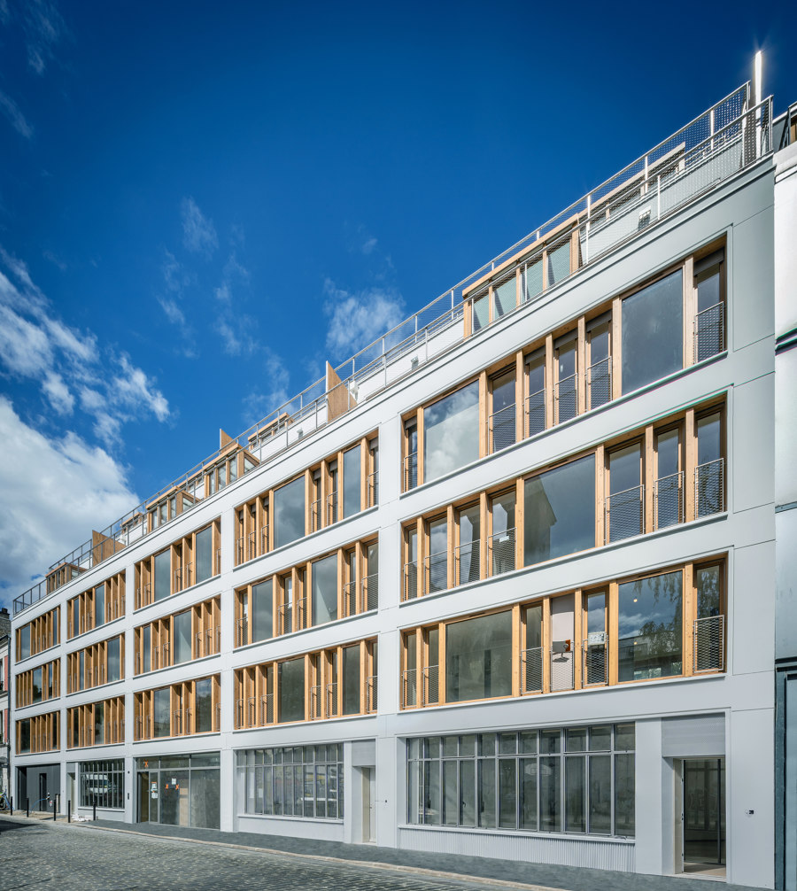 35 Social Housing Units by Mobile Architectural Office | Apartment blocks