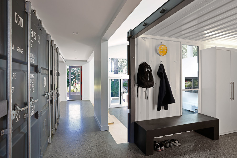 The Wyss Family Container House by Paul Michael Davis Architects | Living space