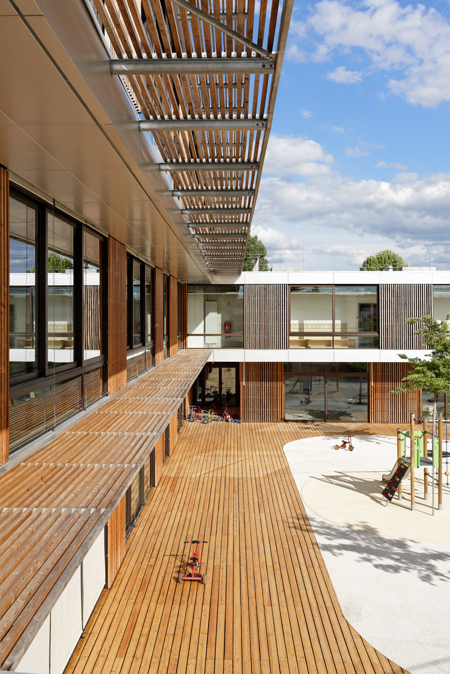 School Anthony by Dietmar Feichtinger Architectes | Schools