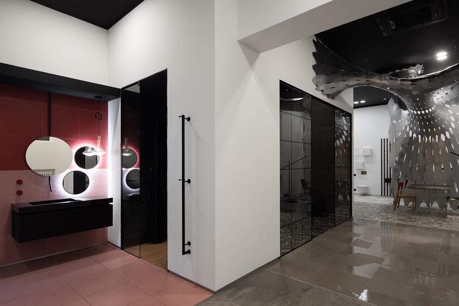 Crane Design Showroom di SA lab   Negozi - Interni