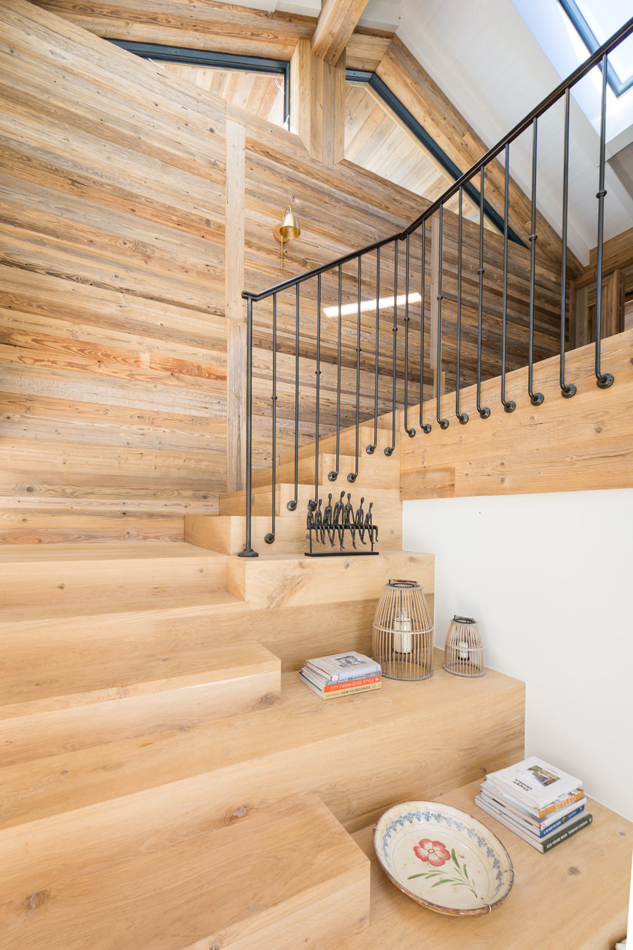 Private house with Sun burned brushed boards and reclaimed wood doors by Wooden Wall Design | Manufacturer references