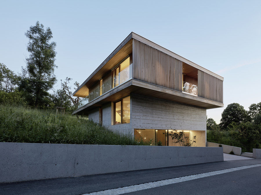 House D by Dietrich Untertrifaller Architects | Detached houses