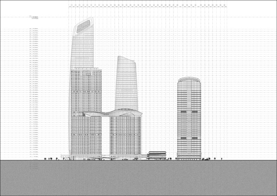 Landscape Urbanism in Shenzhen by Farrells | Office buildings