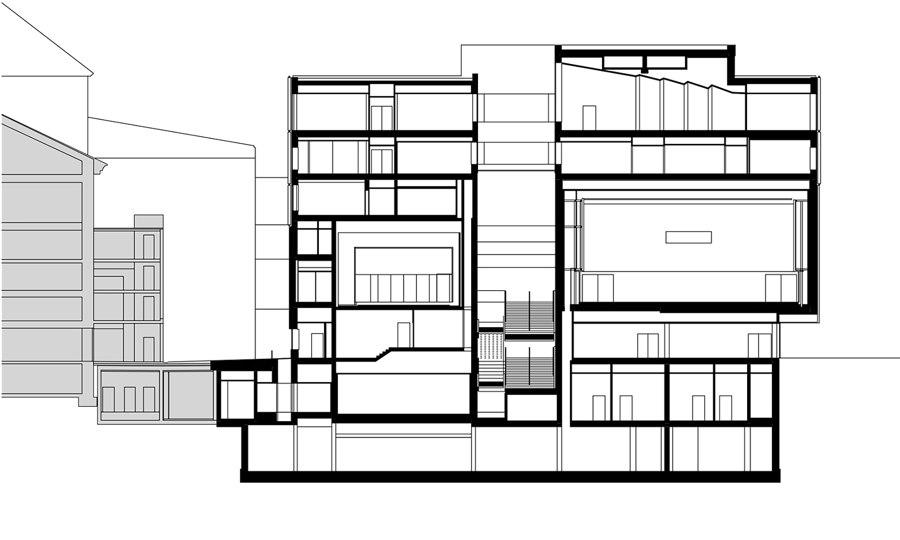 Haus Der Musik Innsbruck by Dietrich Untertrifaller Architects | Concert halls