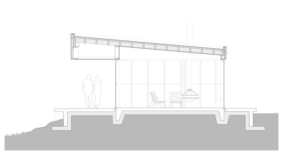Viewpoint Vaulalia Retreat by Bergersen Arkitekter AS | Detached houses