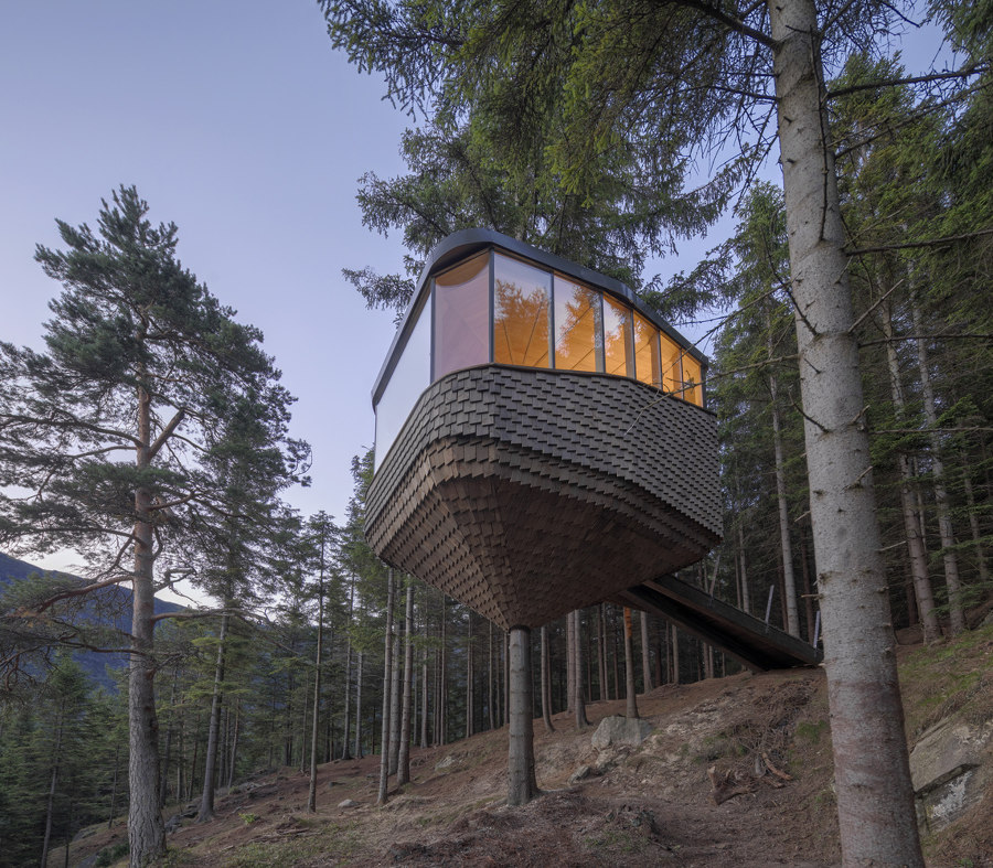 Woodnest Cabin by Helen & Hard | Detached houses