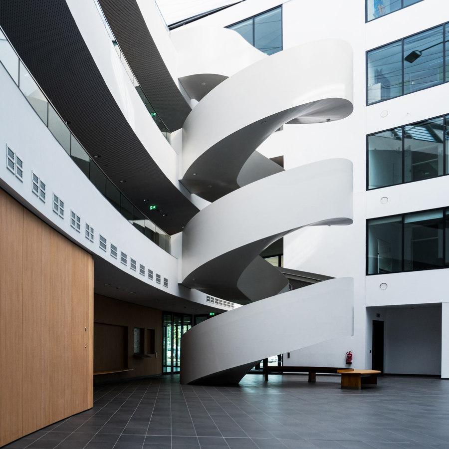Eindrucksvolle Designtreppe im Lilienthalhaus Braunschweig by MetallArt Treppen   Manufacturer references