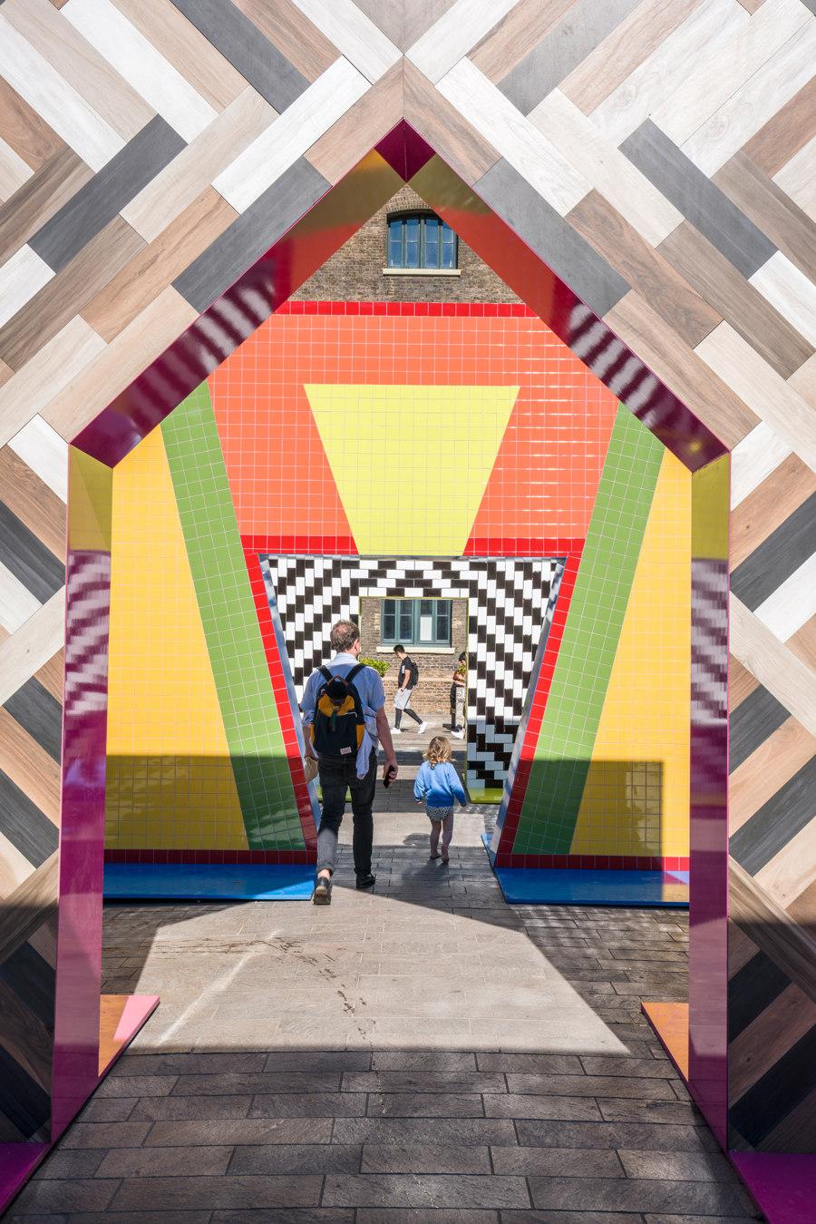 Gateways by Atelier Adam Nathaniel Furman | Temporary structures