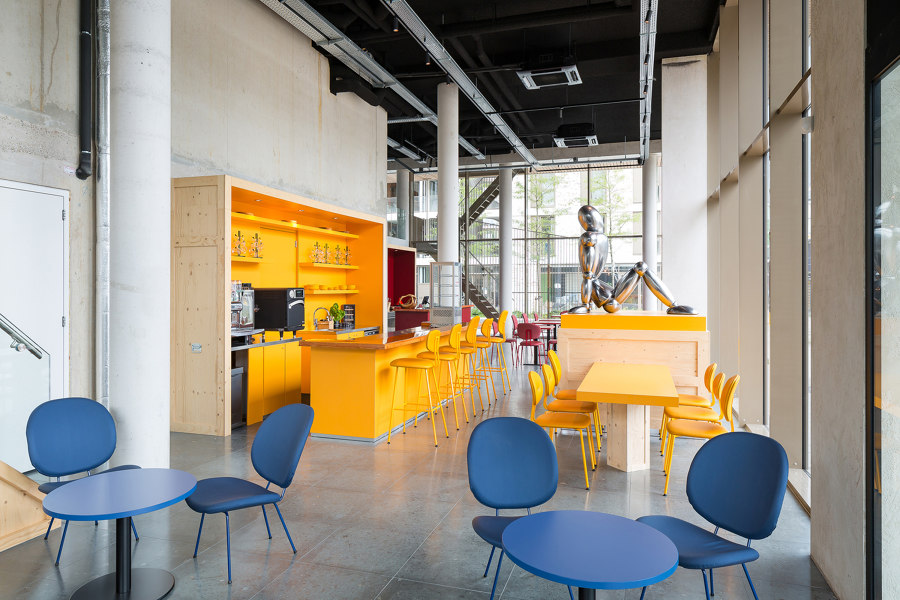 WOW Lieven Cultural Hub by Atelier Carloalberto | Office facilities