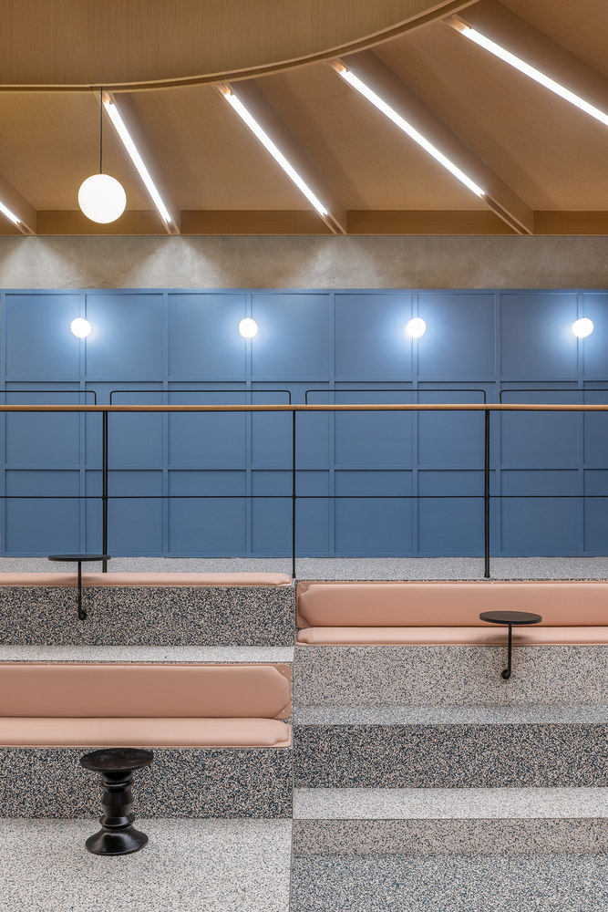 Social Space in Jing'an Kerry Centre by Linehouse | Office facilities