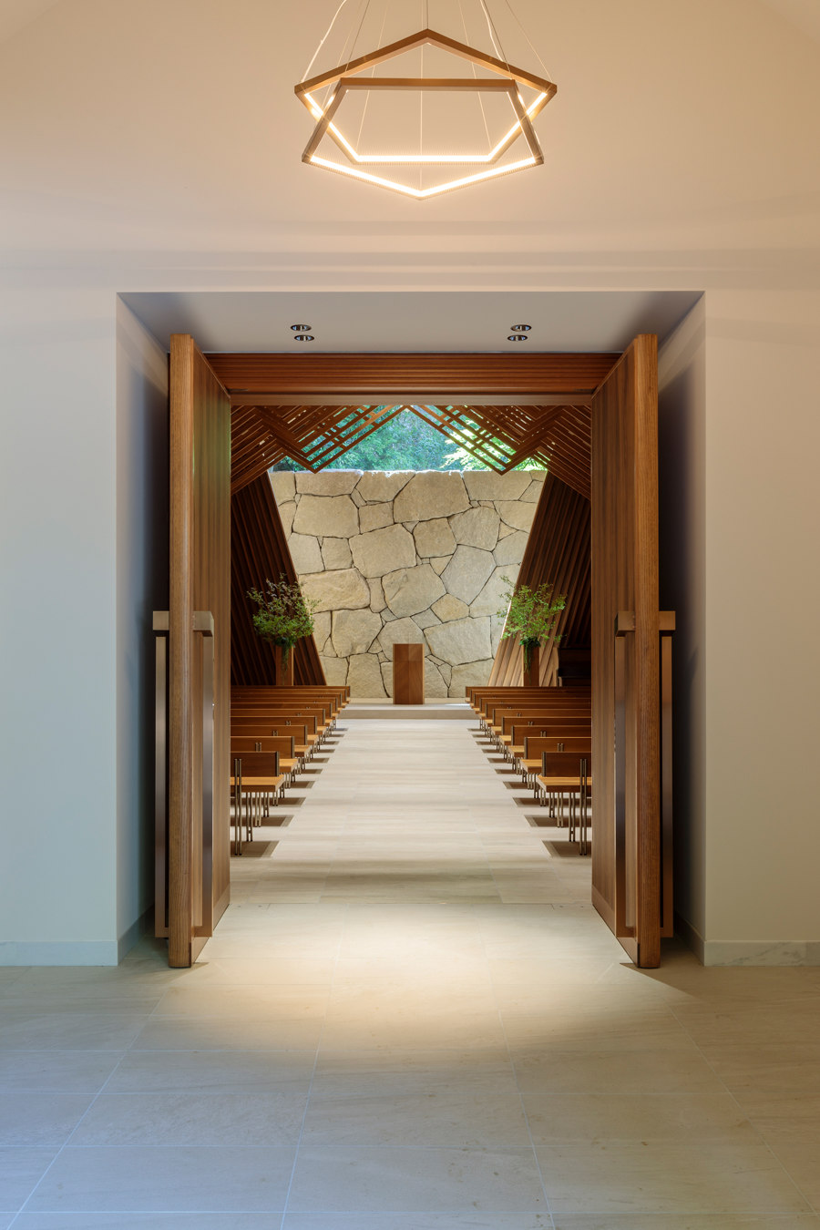 The Westin Miyako Kyoto / Chapel Renovation by KATORI archi+design associates | Church architecture / community centres