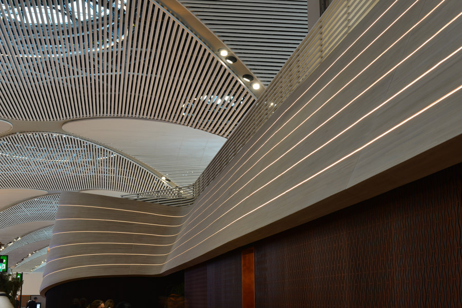 Turkish Airlines Lounges İStanbul Airport by Mikodam | Manufacturer references