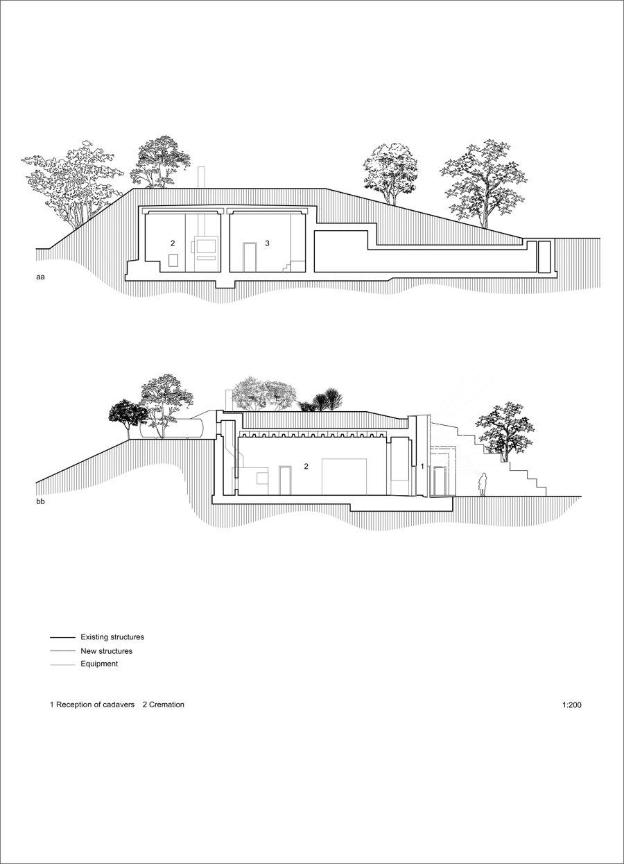 Pet Crematorium Hunting Grounds von Petr Hajek Architekti   Sakralbauten / Gemeindezentren