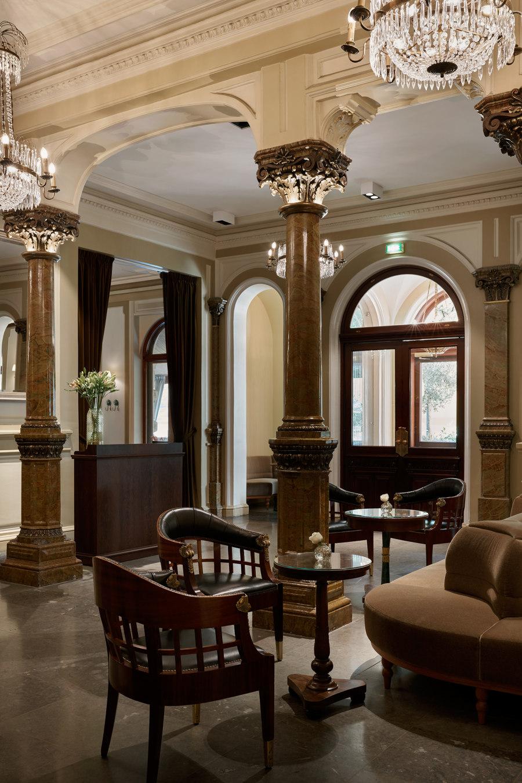 Kämp Bar by Fyra | Bar interiors