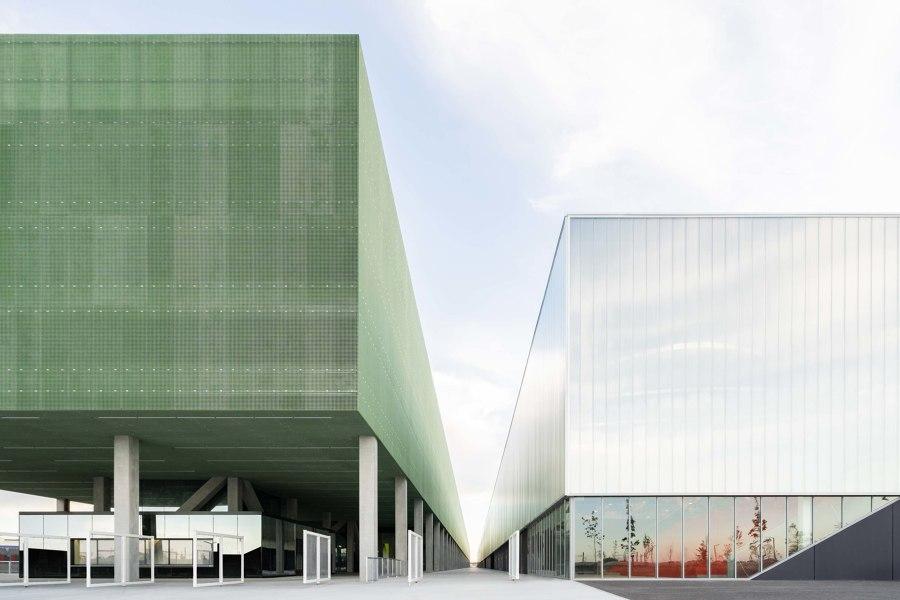 MEETT Toulouse Exhibition and Convention Centre von OMA | Messe- und Ausstellungsbauten