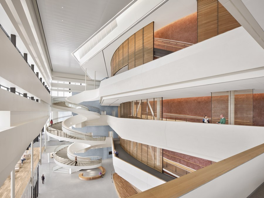 Buddy Holly Hall of Performing Arts and Sciences by Diamond Schmitt Architects | Sports halls