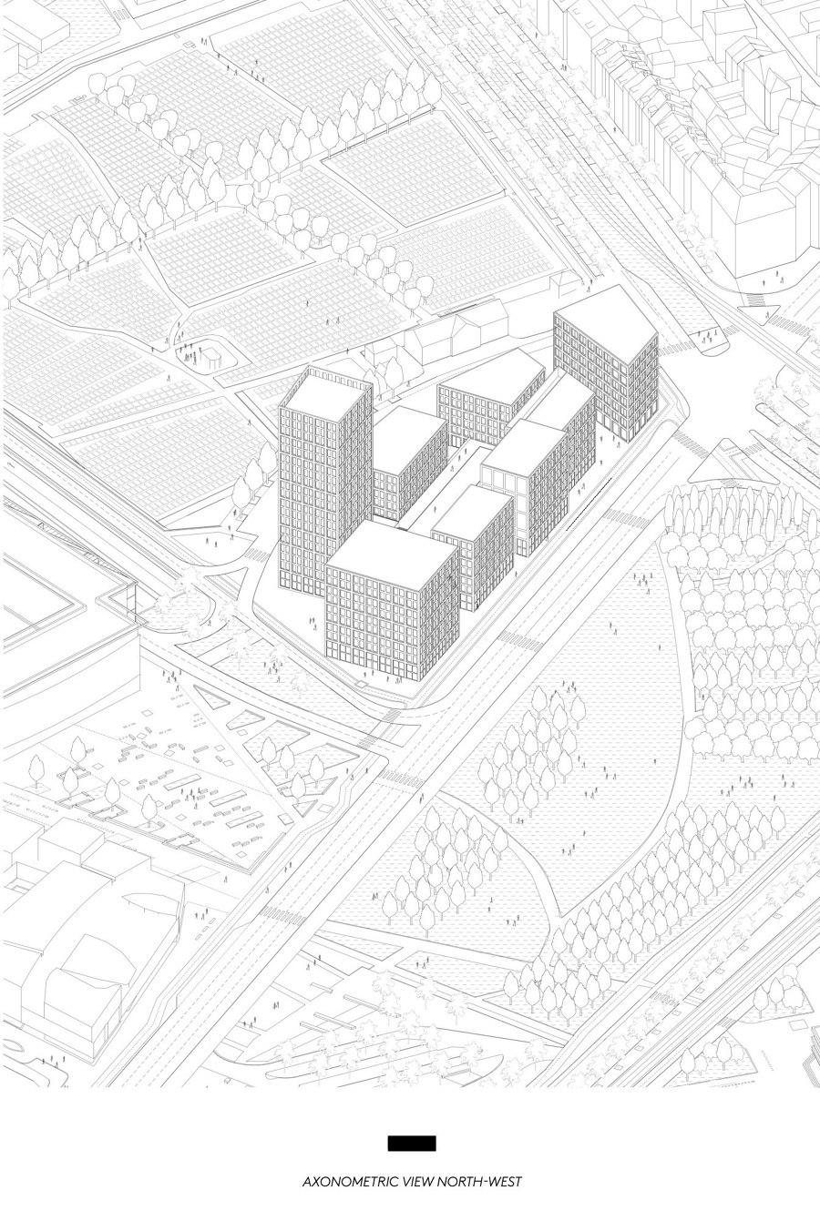 Nolistra District by LAN   Apartment blocks