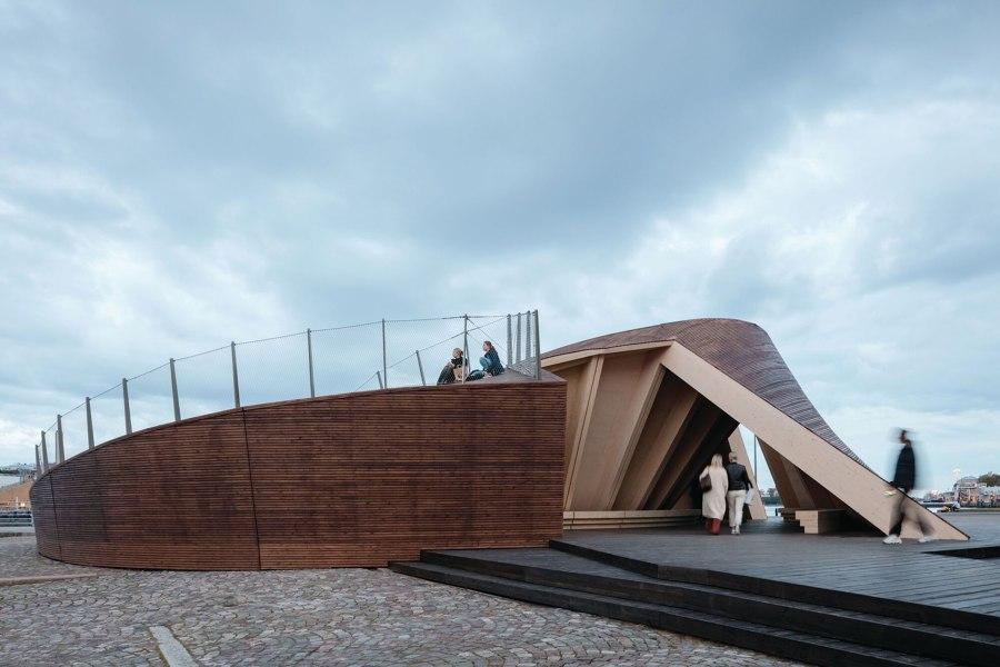 Helsinki Biennial Pavilion by Verstas Architects | Trade fair stands