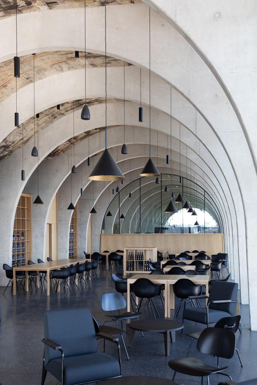 Lahofer Winery von Chybik + Kristof Architects & Urban Designers | Restaurants