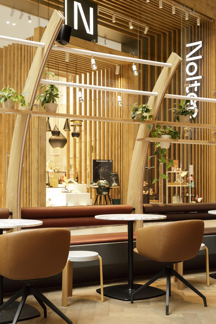 D.E. Café Pavilion Westfield de Ninetynine | Intérieurs de café