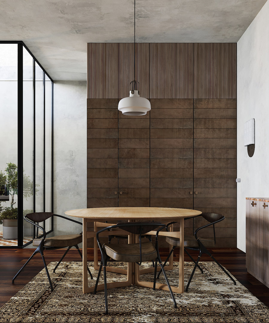 R+1 House by Puntofilipino   Living space