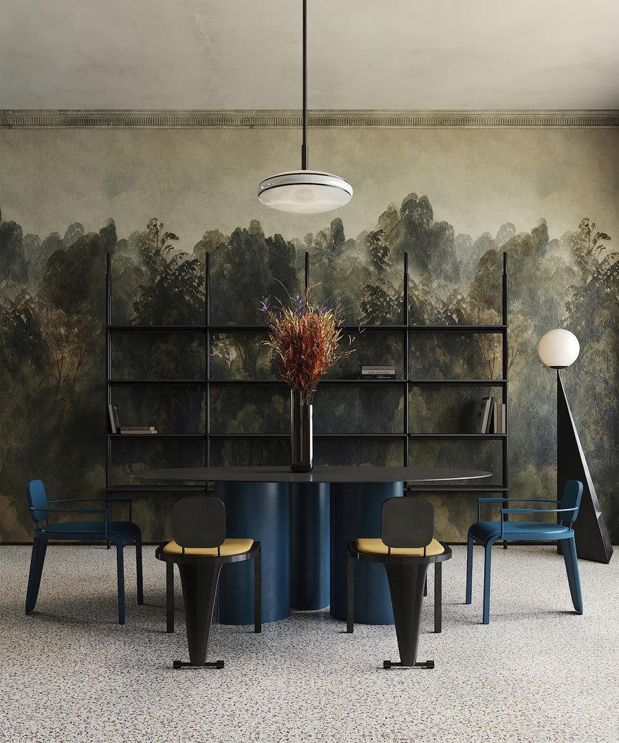 Memphis Milano Apartment by Puntofilipino   Living space