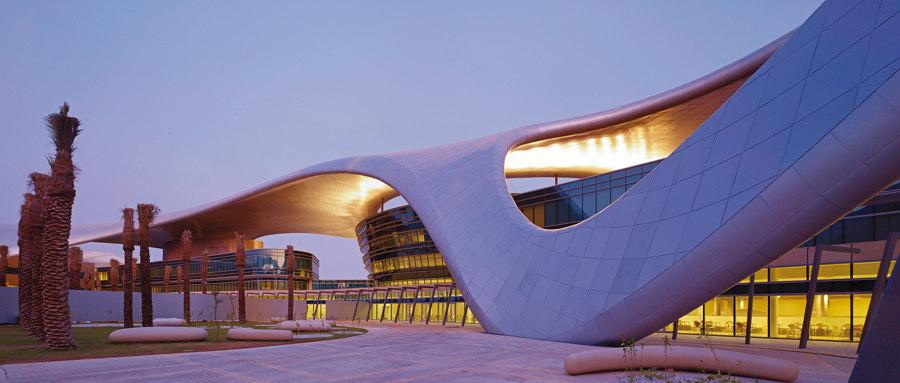 Zayed university by Hadi Teherani | Universities