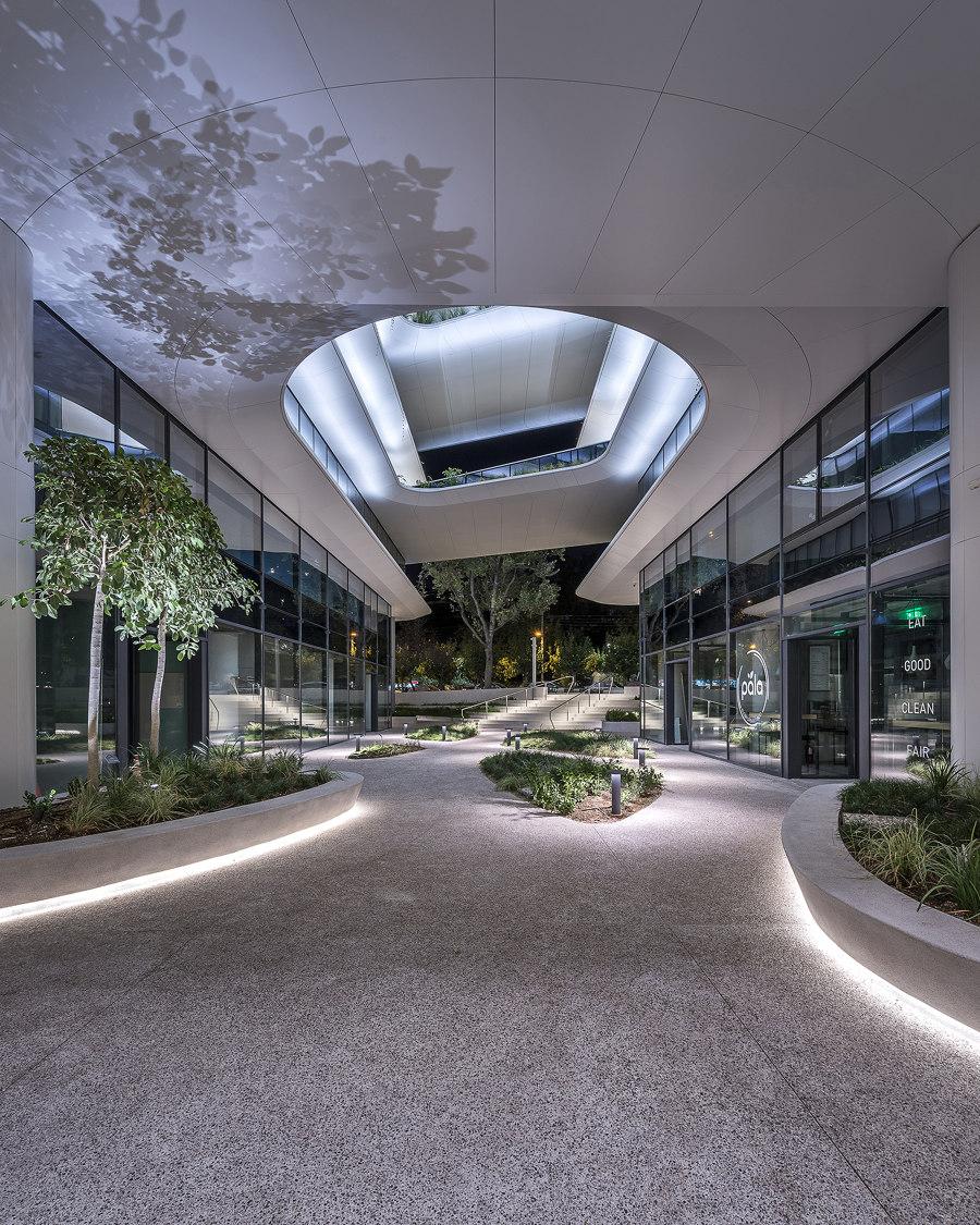 The Orbit Urban Office Campus by Danilof Light + Visual Perception Studio   Office buildings