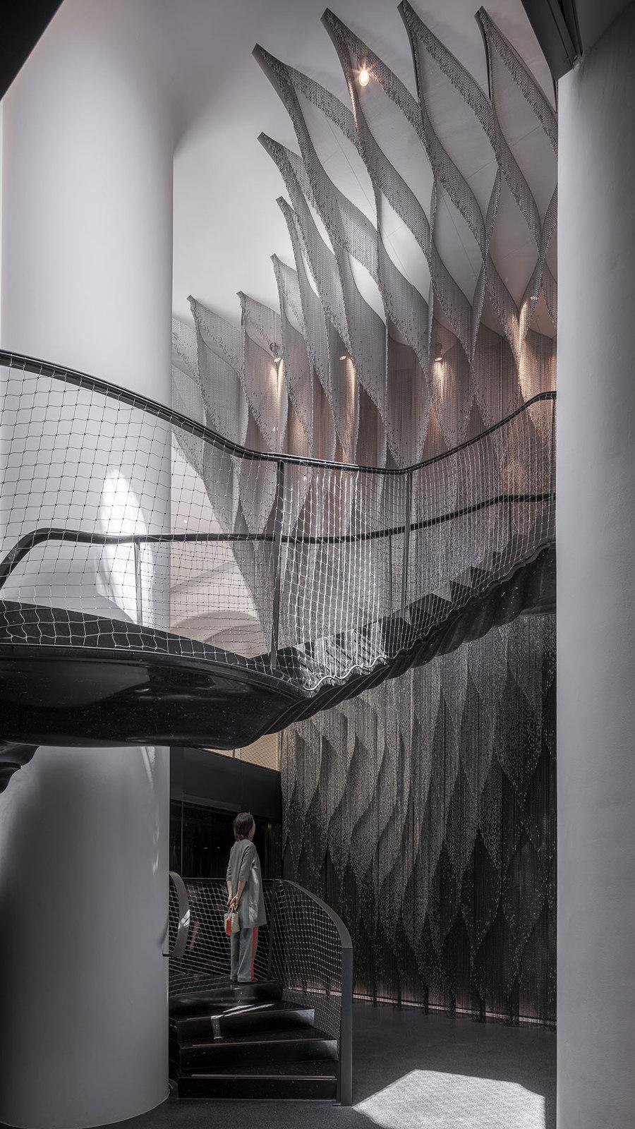New Interior for Casa Batlló Stairs & Atrium by Kengo Kuma | Installations