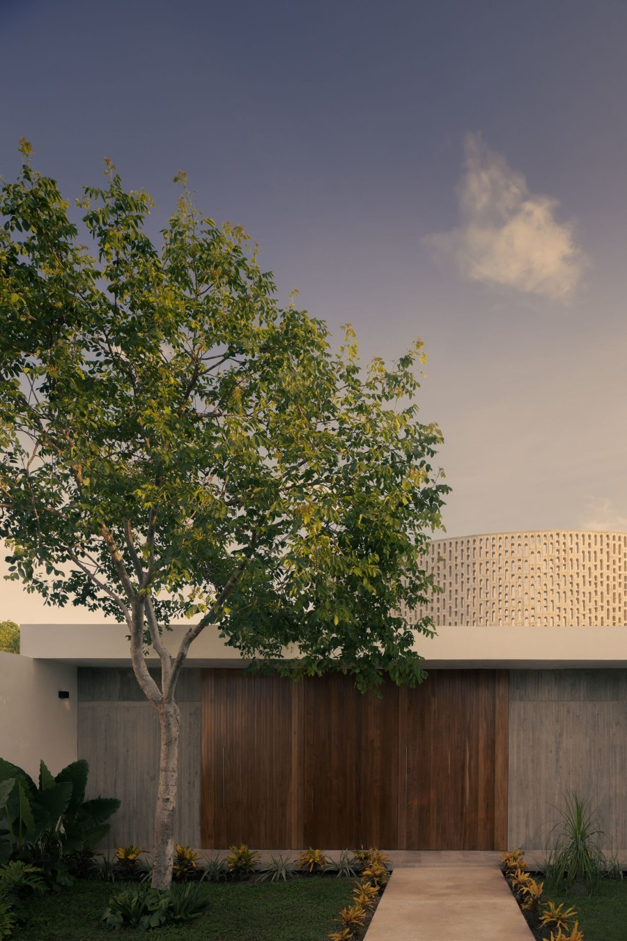Wóolis House by Arkham Projects   Detached houses